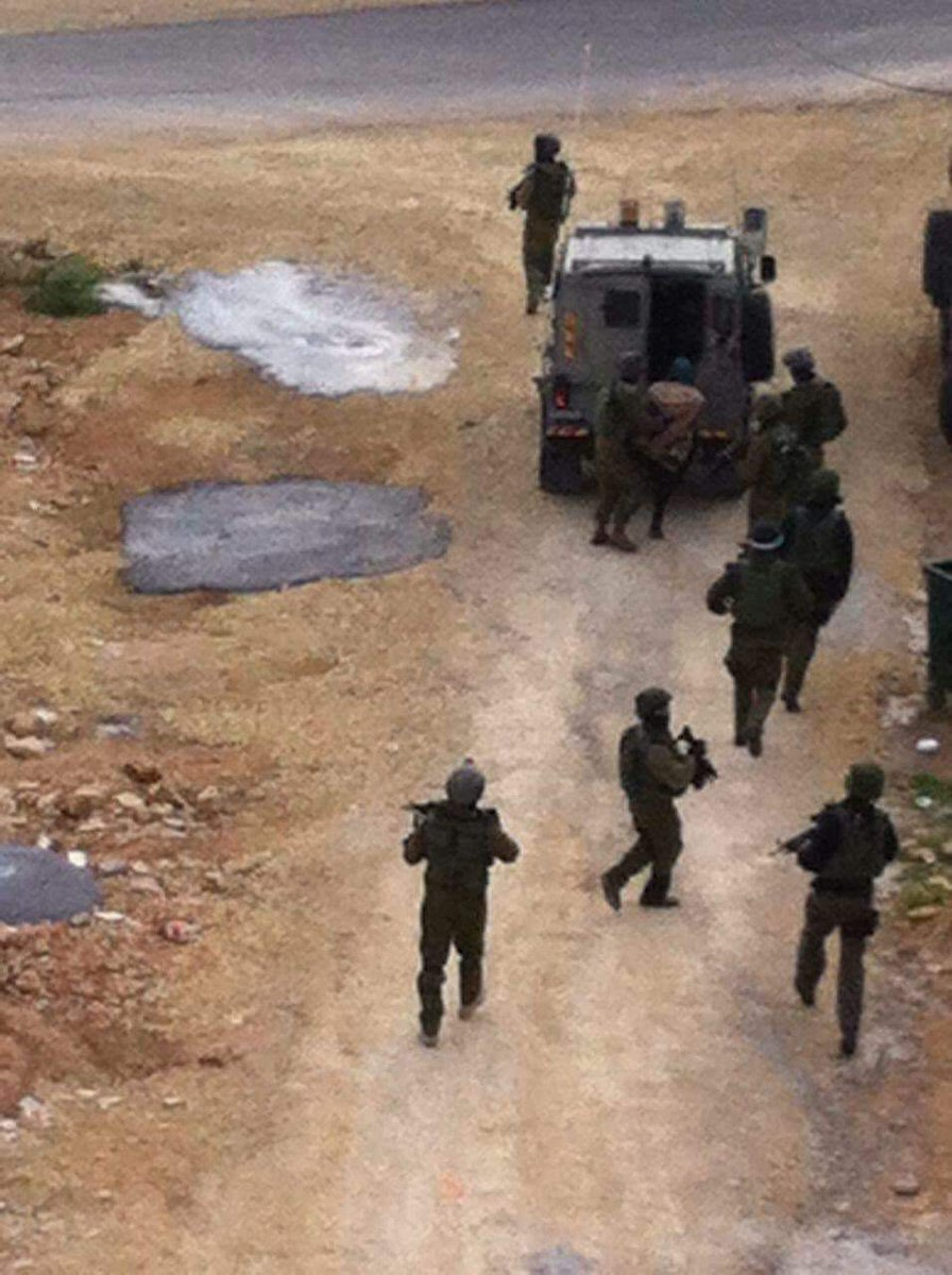 Police operation in Bir Zeit village