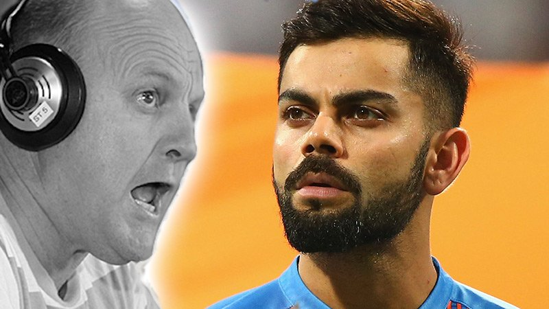 """""""MAKE SOME F****** RUNS""""  Billy Bakes @imVkohli & The Indian Cricket Team: https://t.co/TjAJUXf0zZ https://t.co/6uG0rEuVaO"""