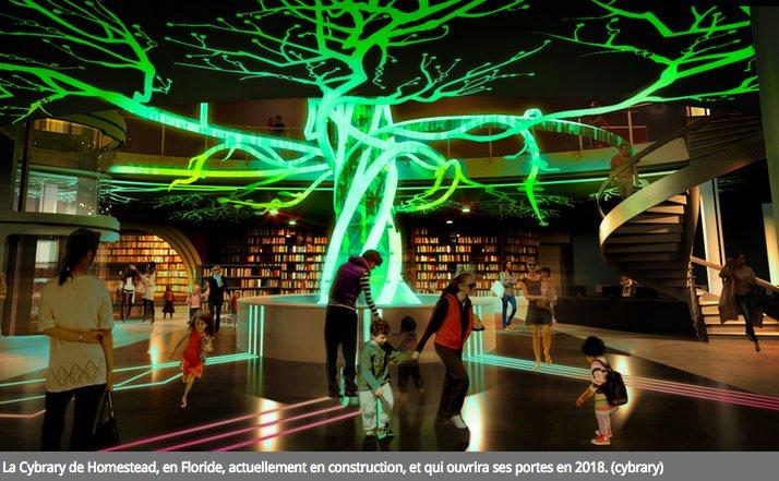 A Homestead, en #Floride, #Cybrary, la #bibliothèque du futur conçue comme un parc d&#39;attractions, ouvrira en 2018  http://www. archimag.com/bibliotheque-e dition/2017/03/02/cybrary-bibliotheque-futur-parc-attractions &nbsp; … <br>http://pic.twitter.com/ORc2bAPsAX