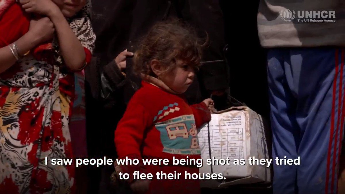 Every week families are risking their lives to flee Mosul, Iraq unhcr.org/news/latest/20…