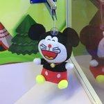 中国クオリティwドラえもんとミッキーのハイブリットのぬいぐるみ!