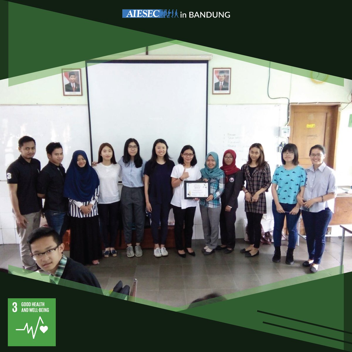 Our last Impacting Project 'Love for Cancer Kids' of AIESEC in Bandung with Rumah Cinta Anak Kanker (RCAK). https://t.co/3qI8dImobZ
