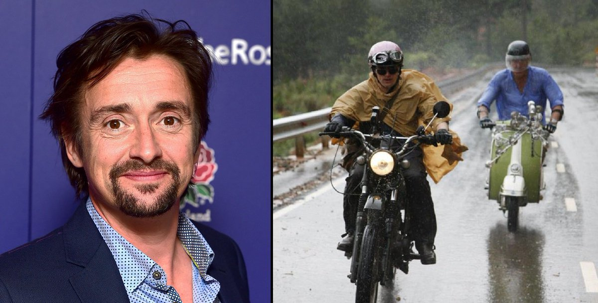 Richard Hammond involved in second 'horror' crash while filming 'The Grand Tour' theladbible.com/news/film-and-…