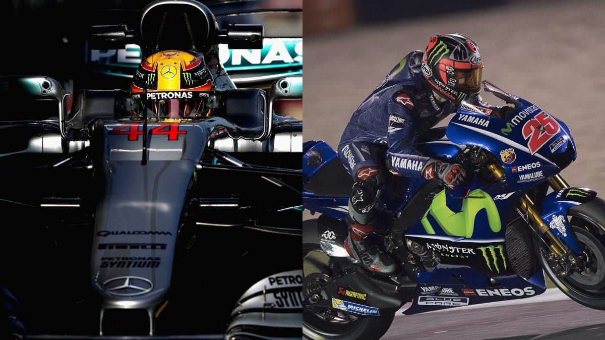 Fine settimana con Formula 1 e MotoGP in diretta streaming