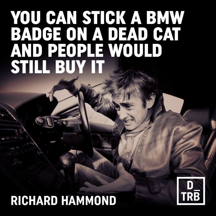Wise words from Richard Hammond...