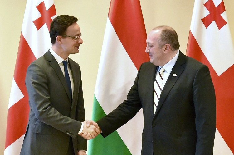 Hungary boosts Georgia's @NATO and EU integration, Hungarian Foreign Minister says on visit to Tbilisi