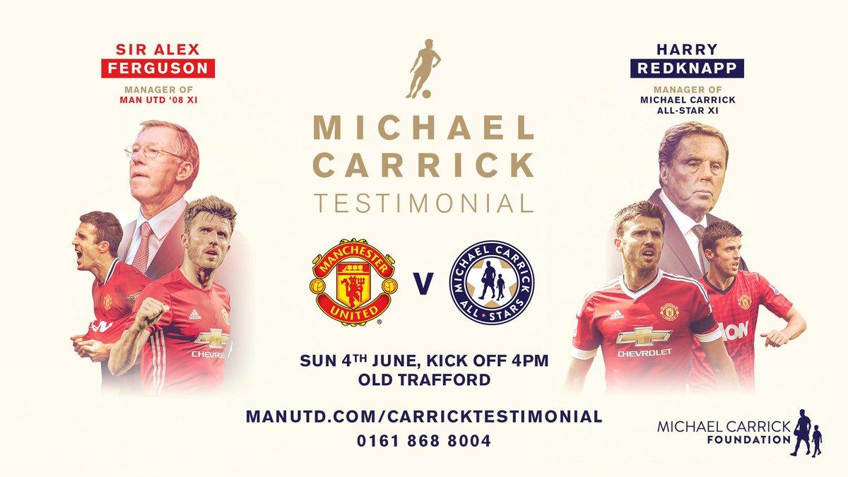 Sir Alex Ferguson bakal kembali beraksi di laga testimonial Michael Carrick.