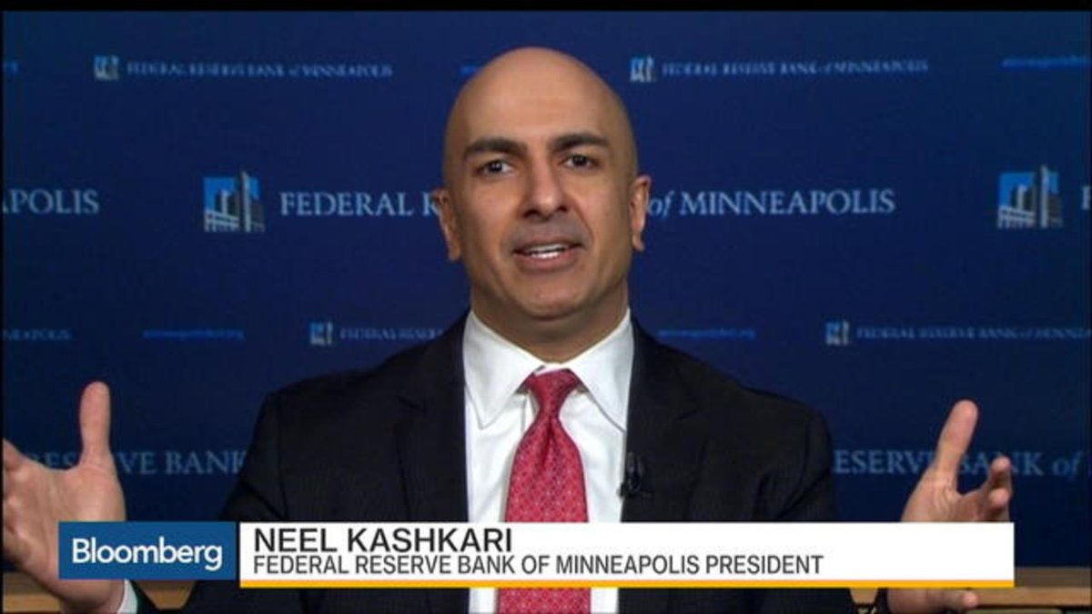 Minneapolis Fed President Neel Kashkari discusses his dissenting vote...