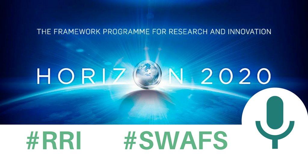 [Jeu] Vous participez ou connaissez un projet européen en #swafs ou #RRI qui a mis en place une initiative intéressante ? Dites-moi tout ! https://t.co/z4h3riKUK8