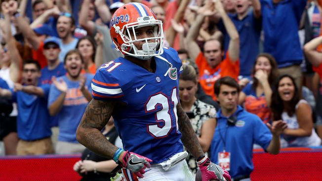 I'm told Florida CB Teez Tabor went through a private workout for the...