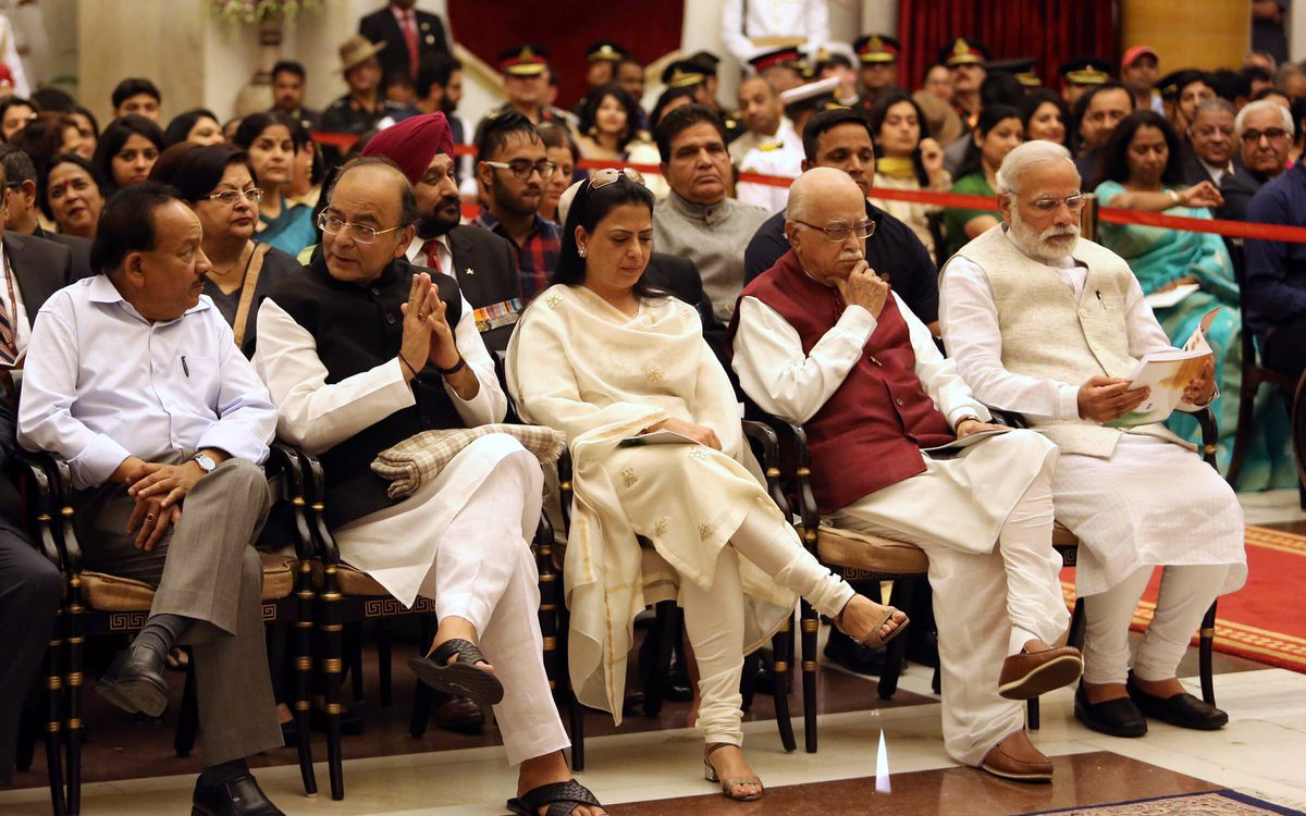 AT the Investiture Ceremony, Rashtrapati Bhavan, March 20, 2017 https:...