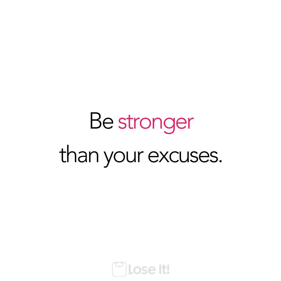 #MotivationMonday #NoExcuses