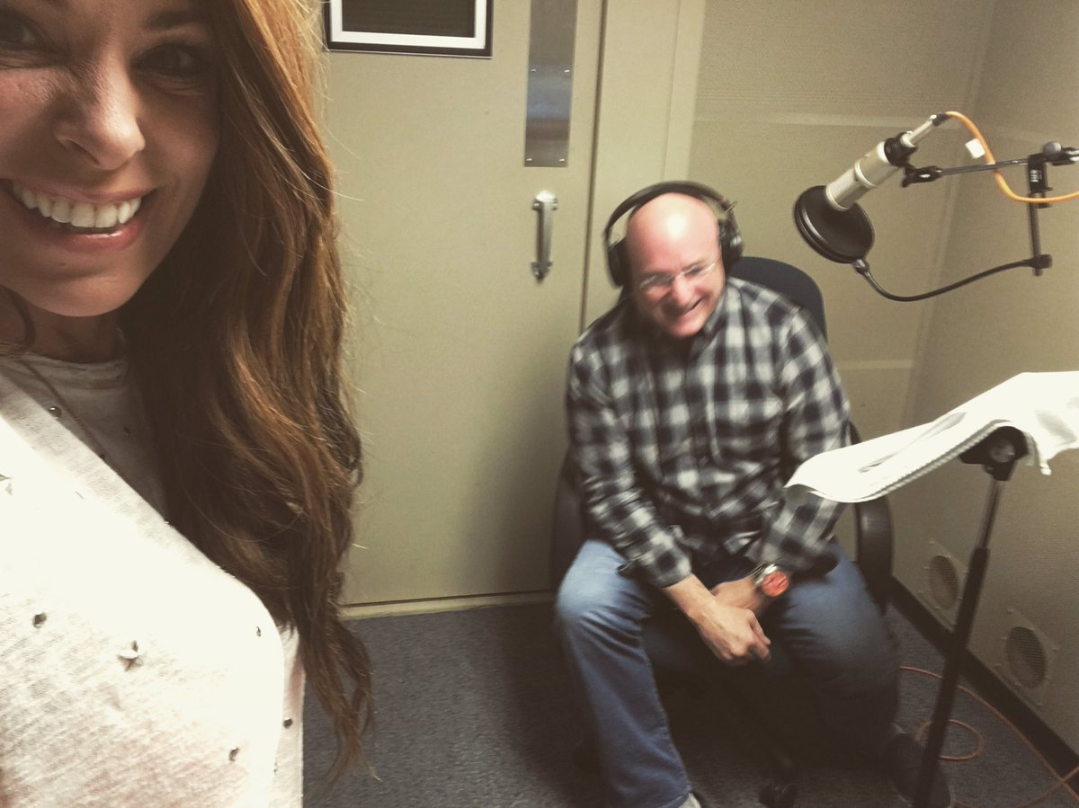 #BTS Sound booth outtakes with @StationCDRKelly @NASA_Johnson this mor...