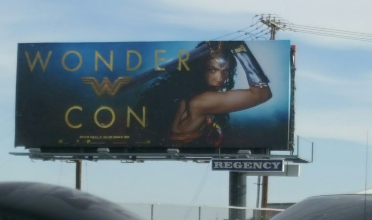 Well done WonderCon, well done.  #wonderwoman https://t.co/iZlnLFb4Zw