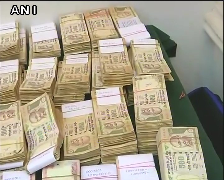 Three persons arrested in Hyderabad with demonetised currency notes of Rs 500 and Rs 1000 amounting to Rs 1,35,80,000