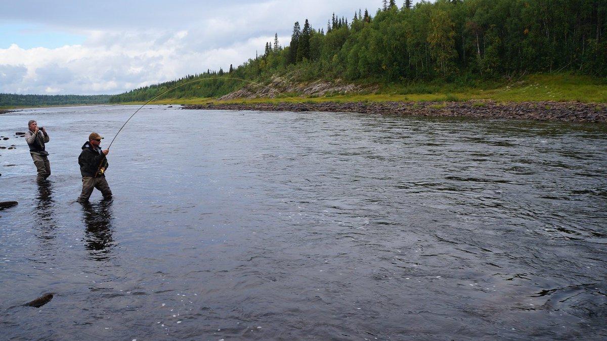Рыбалка на терском береге