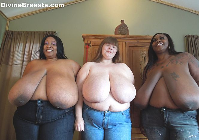 Bare naked maidens