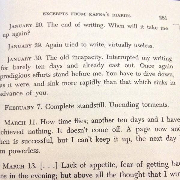 'Kafka's diaries show the real fun side of writing' - @matthaig1 https...