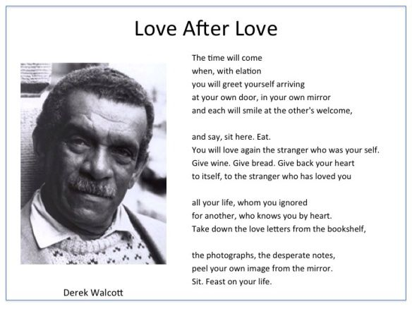 love after love poem by derek walcott poem hunter - 584×438