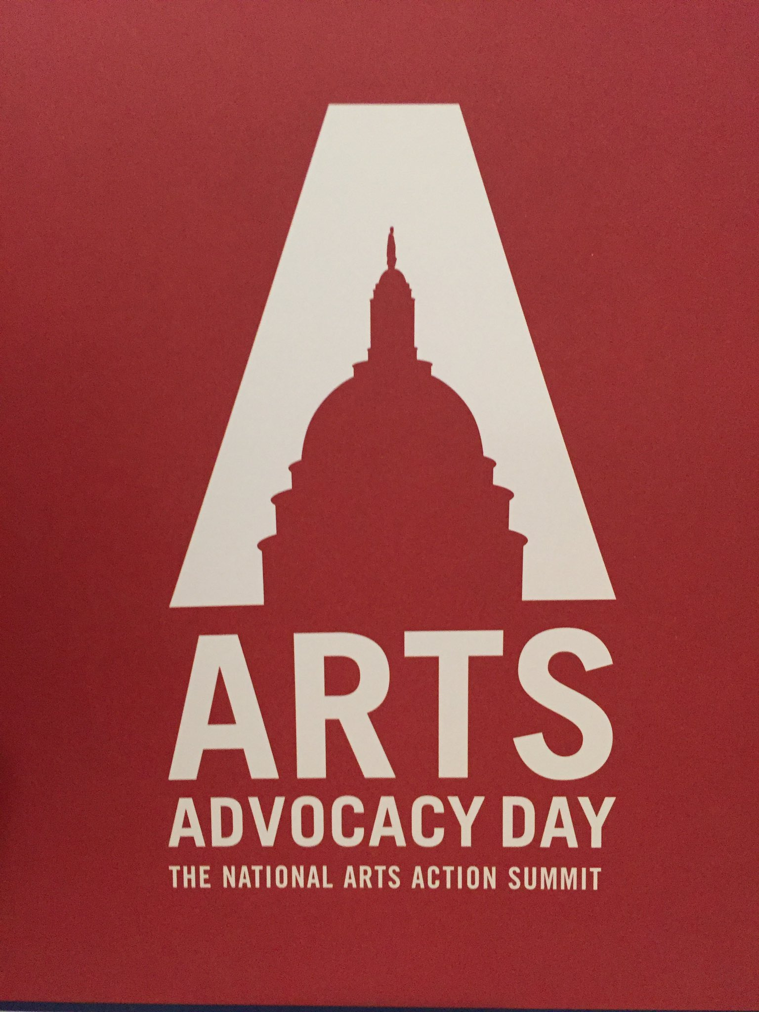 Largest ever gathering at @Americans4Arts #SavetheNEA #artsadvocacy day 2017. #Maryland has one of the largest contingents. Yay! https://t.co/sonCe11KPp