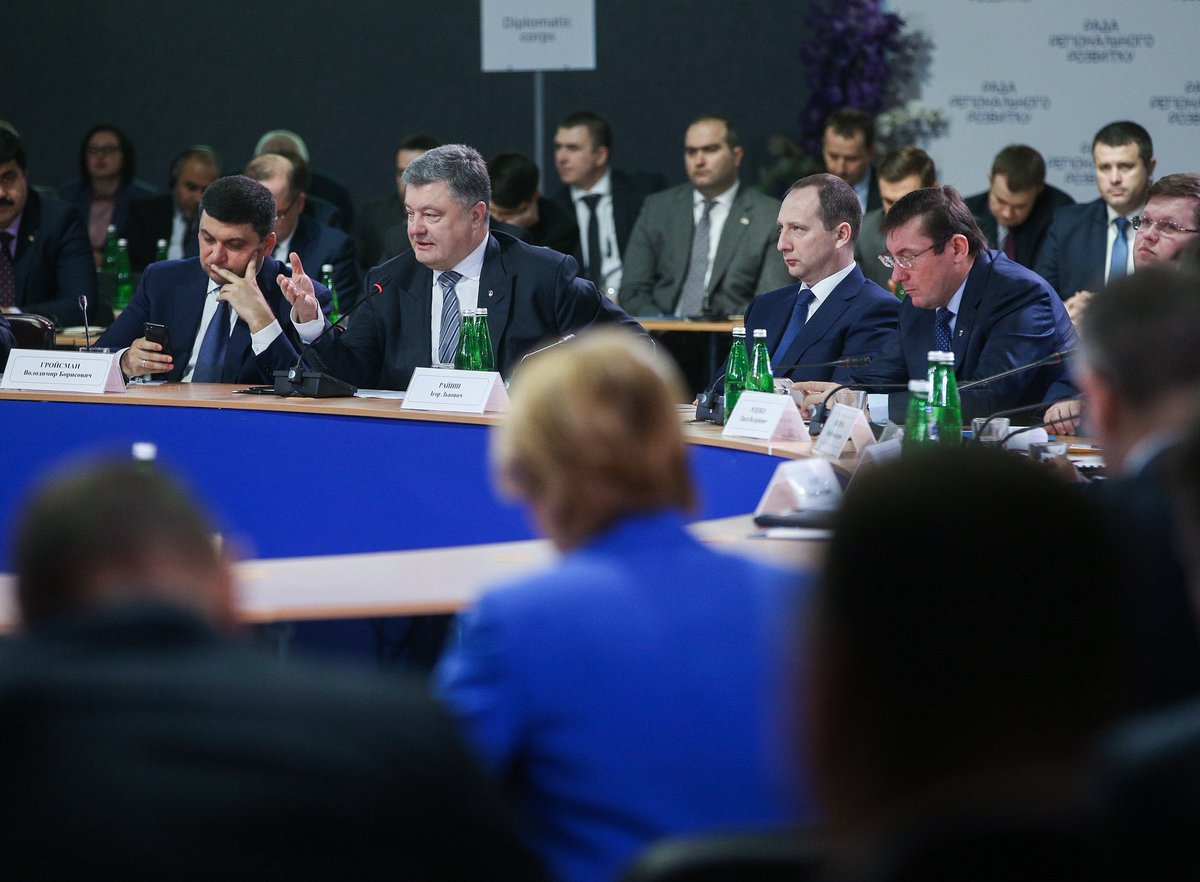 This is not a conflict in the East, its the Russian occupation of Ukrainian lands – the President Poroshenko