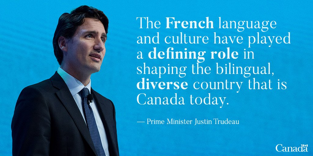 Today, we celebrate the contributions of francophones to our country....
