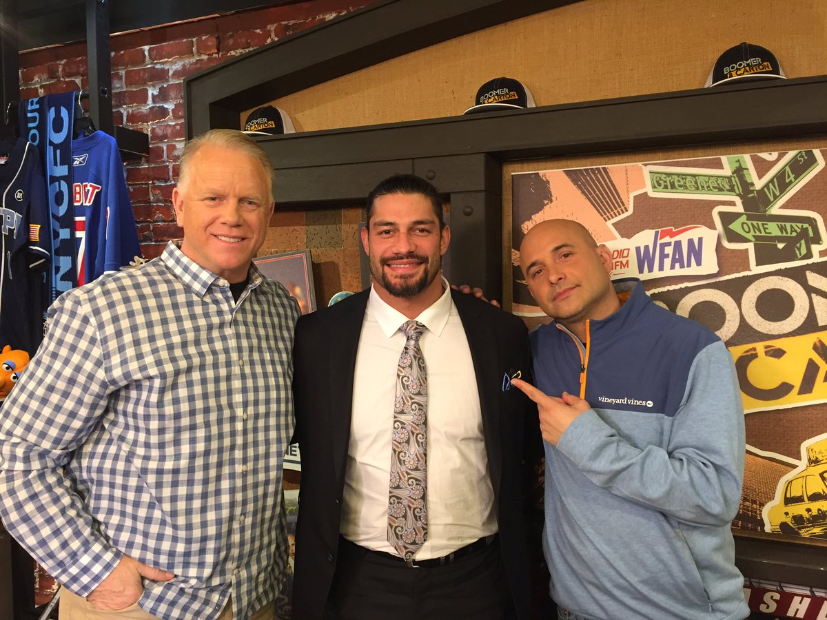 B&C with WWE's @WWERomanReigns https://t.co/mBl1OXLA9s