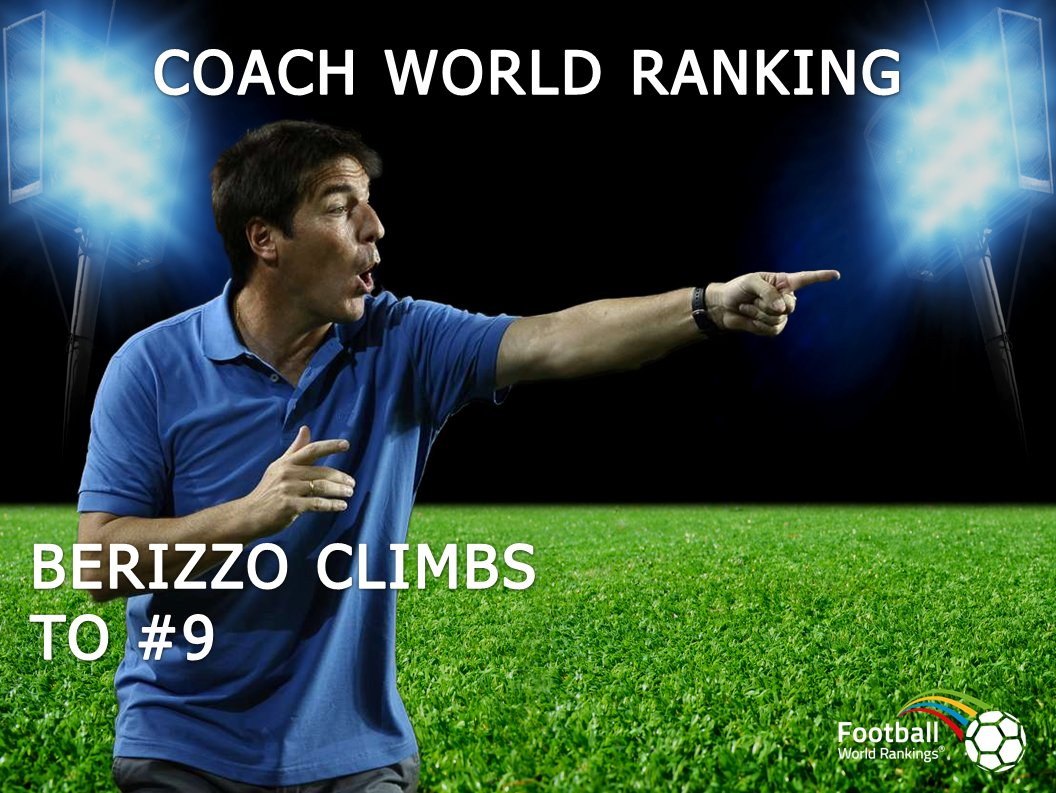 Hey @RCCelta #Berizzo climbs to #9 in the Coach World Ranking! Congratulations #Celta!<br>http://pic.twitter.com/V4tiGhS5vx