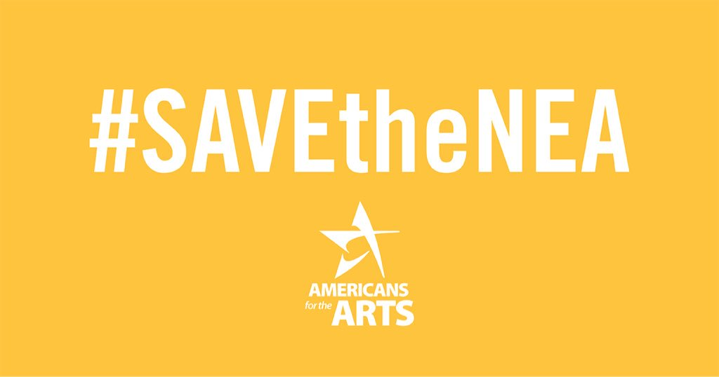 Today is #artsadvocacy day! Show your support for the arts. 💙@NEAarts @Americans4Arts #SavetheNEA #TheatreInOurSchools https://t.co/gfASyFq25v