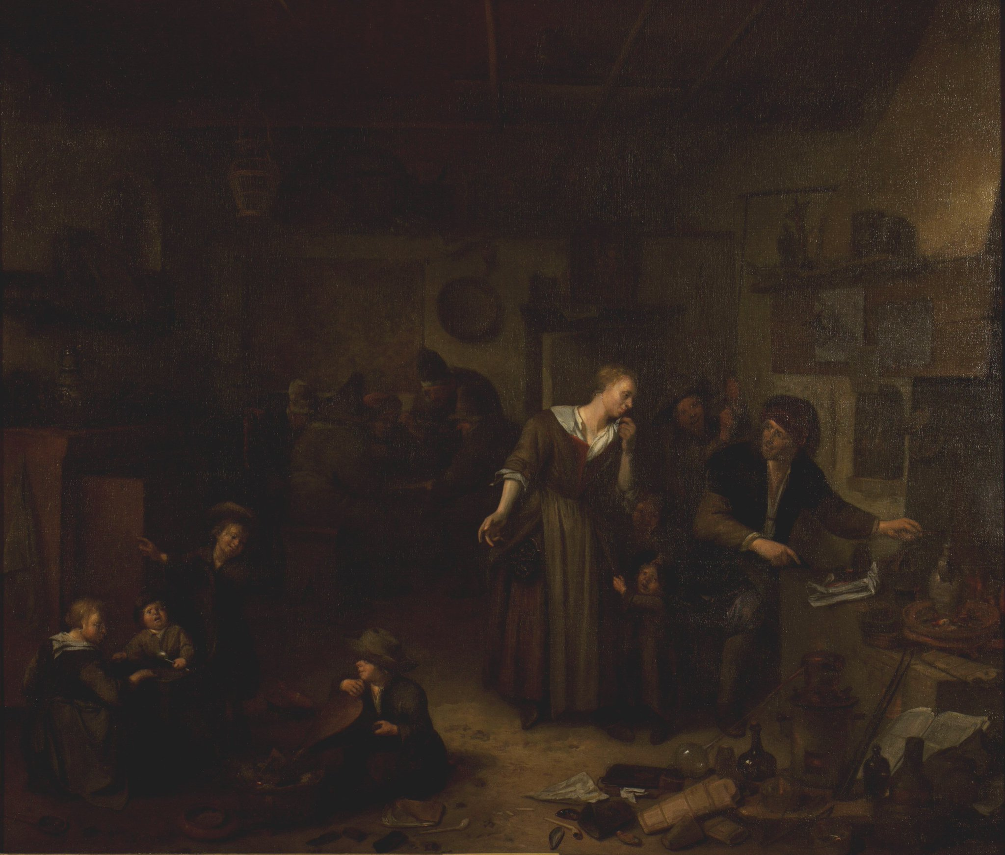 In satirical, mocking pictures of alchemists, women are often the voice of reason in the family... #MuseumMonday #WomensHistoryMonth https://t.co/KiWayYzoEI