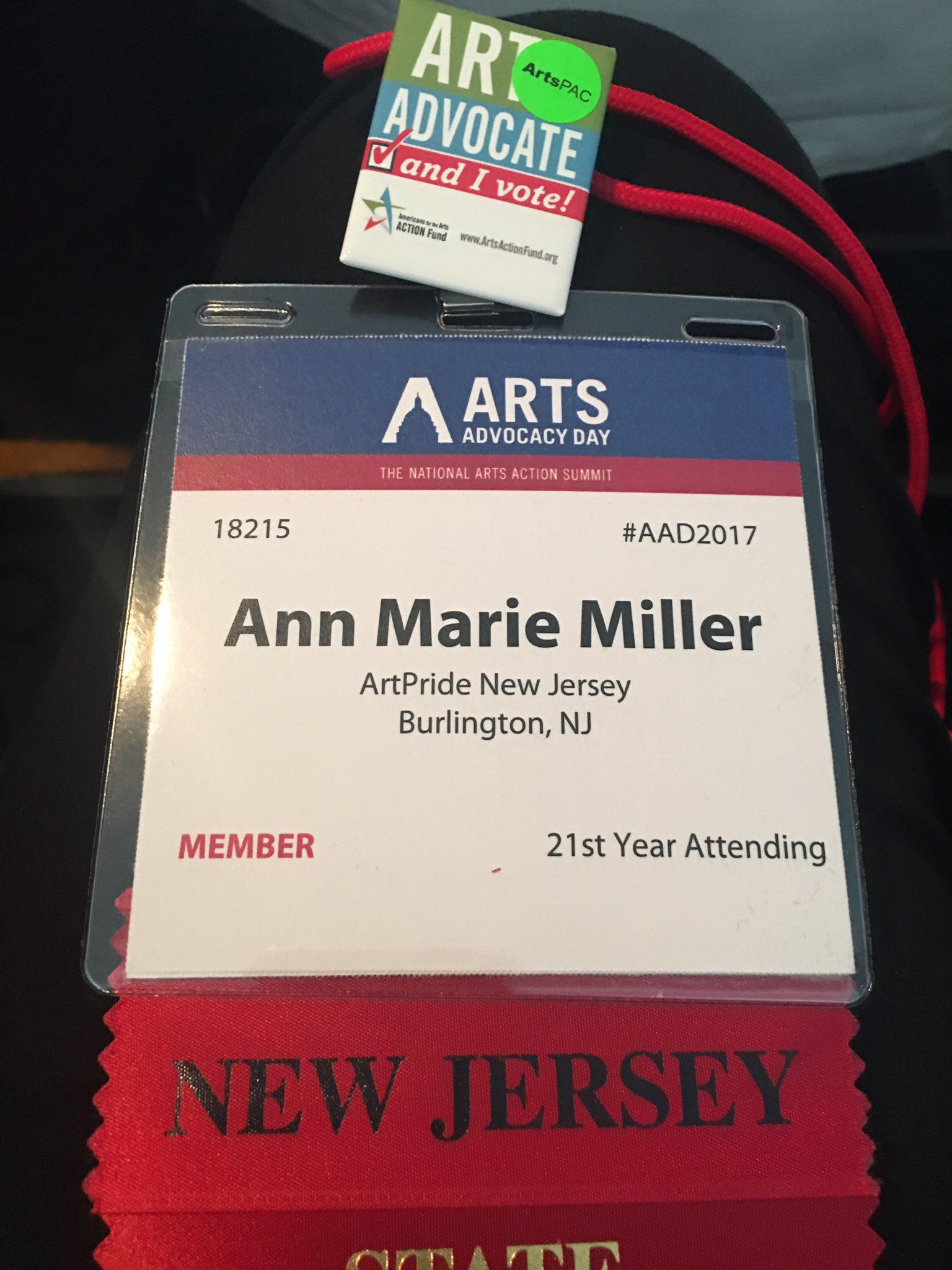 21 years & counting #artsadvocacy #saveNEA @Americans4Arts @ArtsActionFund https://t.co/JnqcWiqpmA