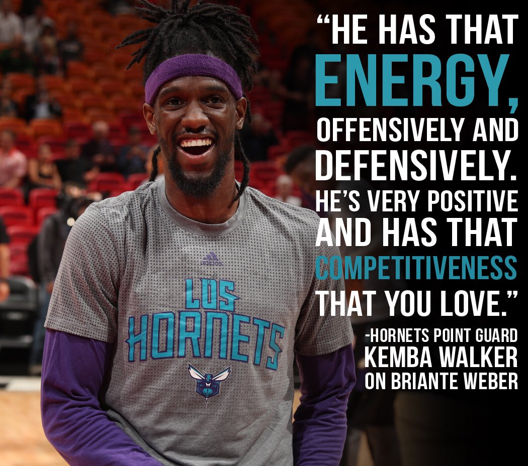 Kemba Walker had good things to say about his newest teammate... 👌 htt...