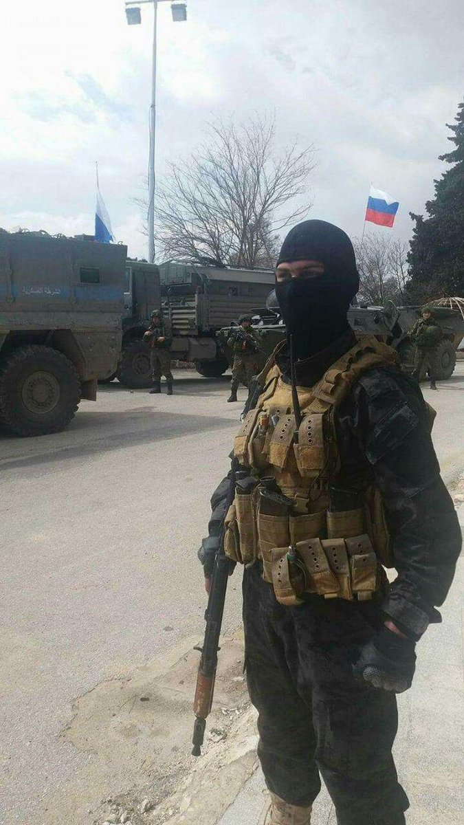 PHOTOS: Images claim to show Russian troops in Afrin, North Syria