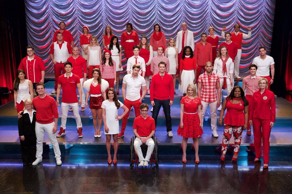And with every broken bone, I swear I lived. ❤ #2YearsWithoutGlee