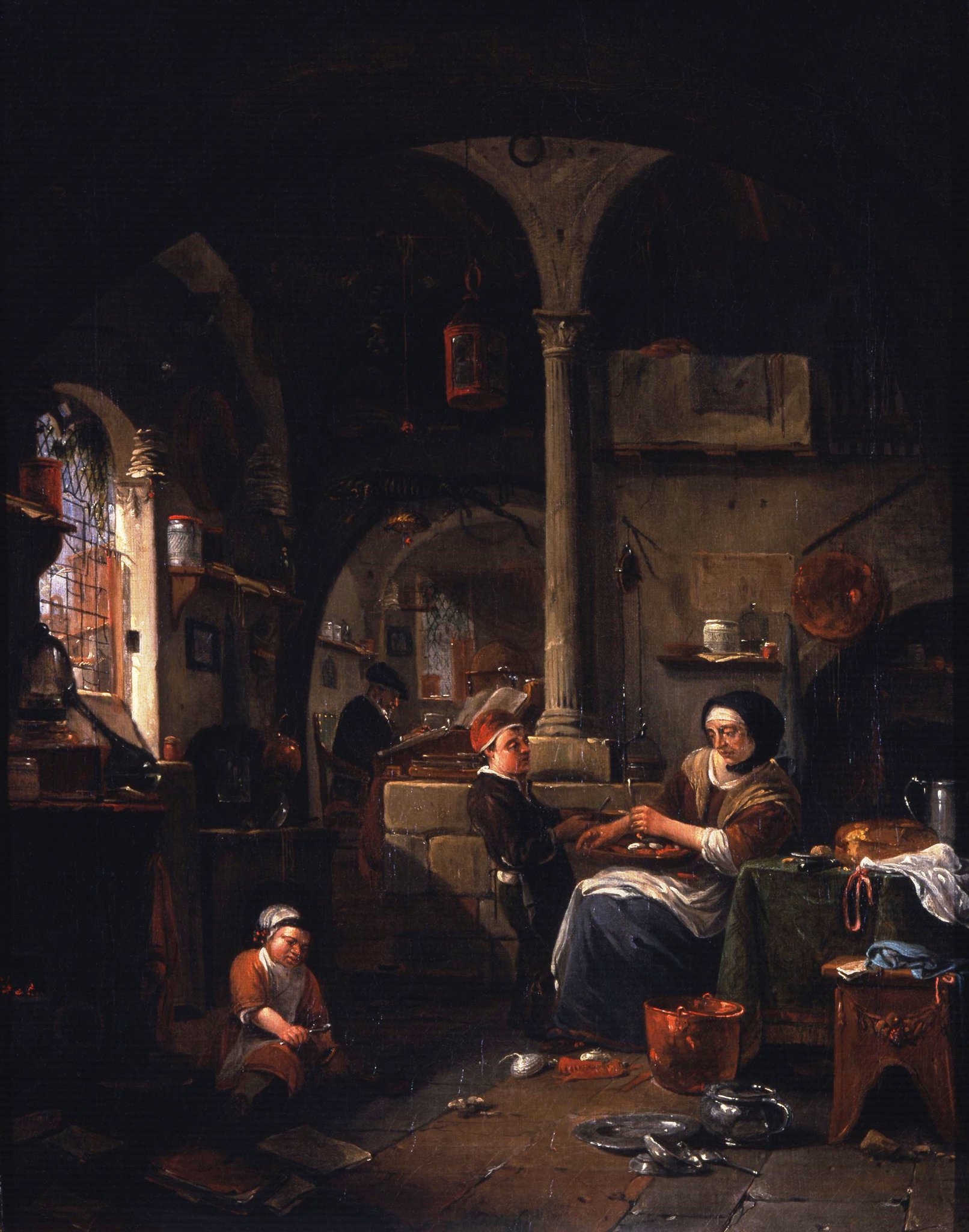 In positive portrayals of alchemists, women are active partners in bustling hybrid home/workshop spaces #MuseumMonday #WomensHistoryMonth https://t.co/fCnFivYvG9