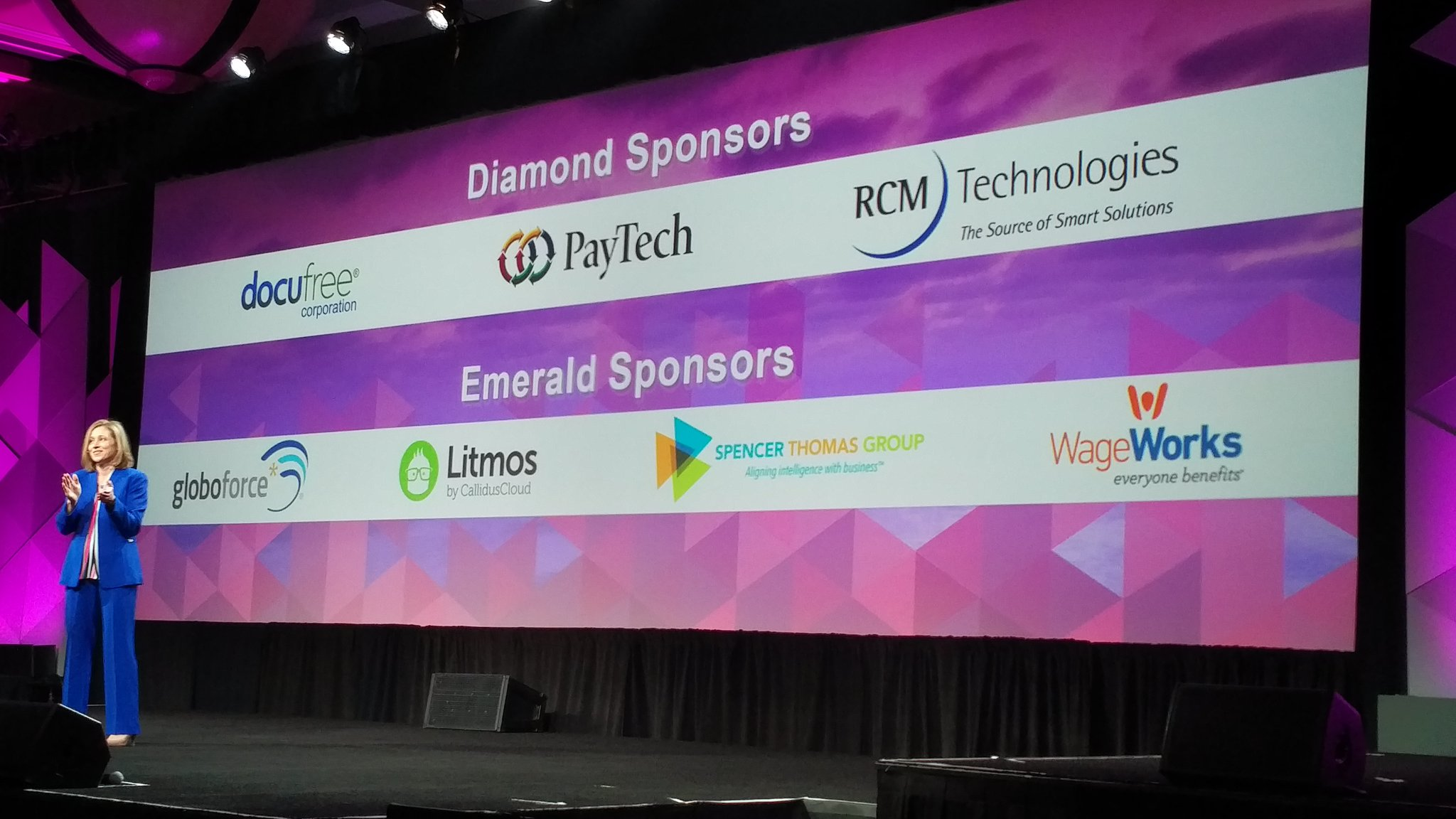 And the mandatory thanks to sponsors #ADPMOTM https://t.co/0fh7gBA4aT