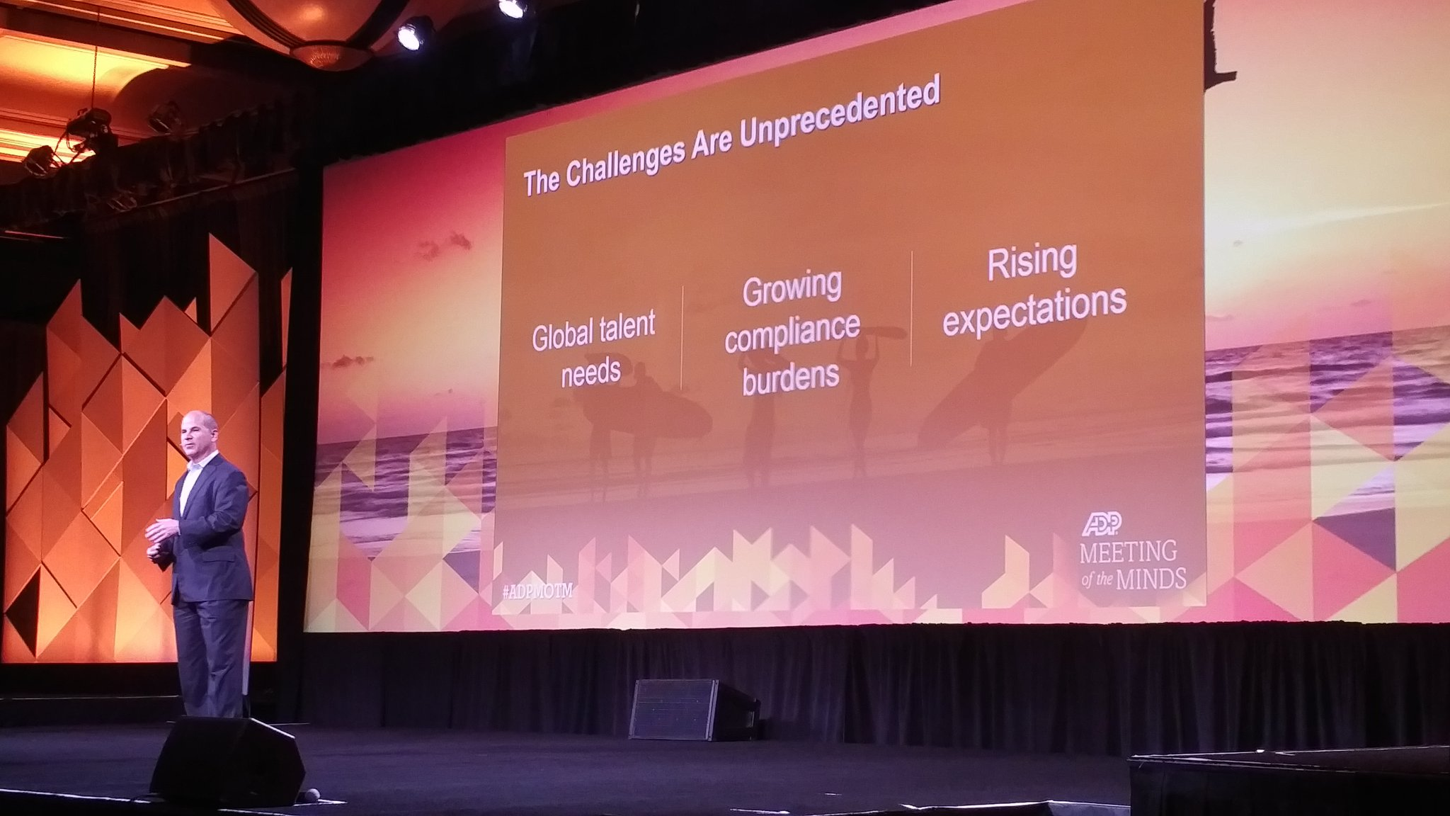 Rodriguez on the changes ahead  - Global talent needs  - growing container burden - rising expectations  #ADPMOTM https://t.co/ecIkQQpBY4