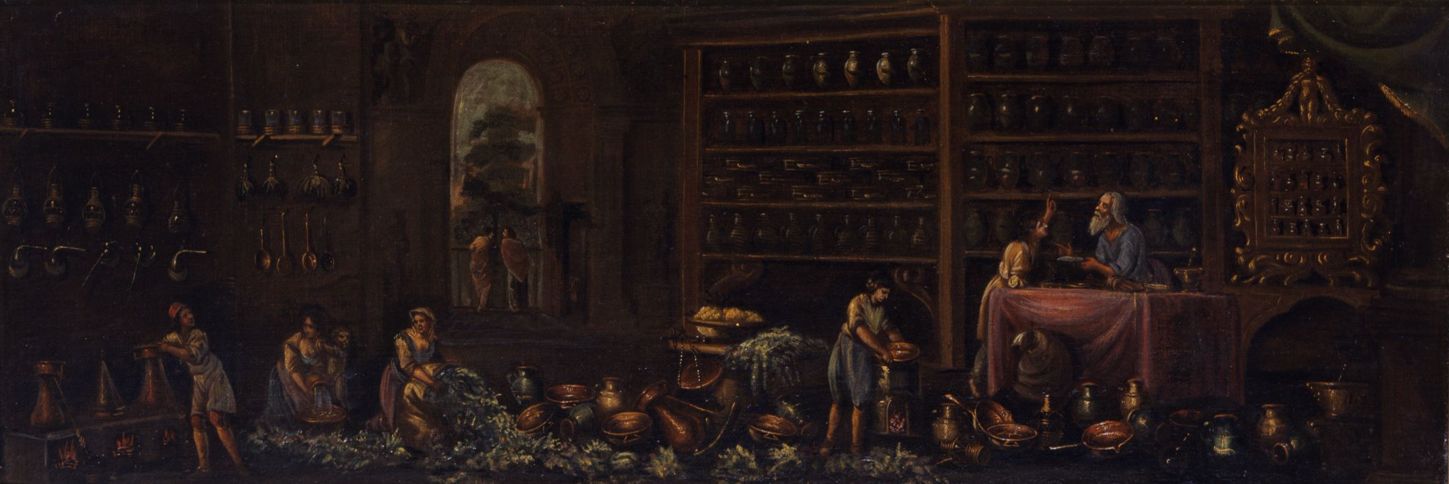 Women also frequently appear in early modern depictions of apothecary shops and pharmacies #histSTM #MuseumMonday #WomensHistoryMonth https://t.co/q7NTHSaUNU