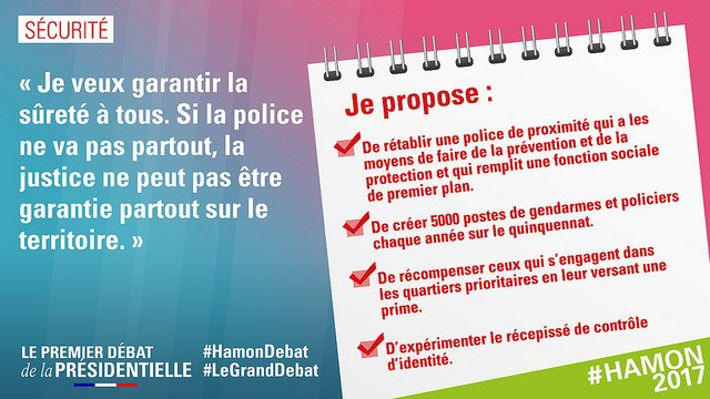 #Sécurité Le #Respect va de pair avec l&#39;absence de #discrimination #République #Hamon2017 #LeGrandDébat #DebatTf1<br>http://pic.twitter.com/MFjEuE8RyB