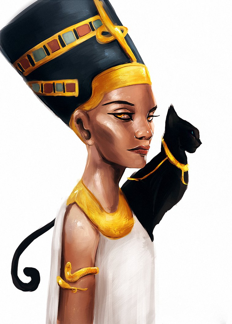 nefertiti queen of egypt Nefertiti was the queen of egypt, the wife of akhenaten, the mother of six of his children and a major part of aten's worship however, no one knows where nefertiti came from several different theories about her origins exist today.