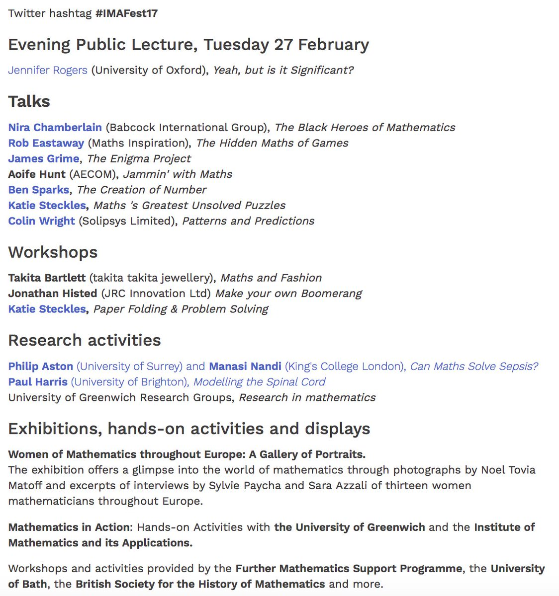 Dr jess wade on twitter gmtgreenwich maths time dr jess wade on twitter gmtgreenwich maths time origami enigma machinesmodelling disease future mathmos imafest17 has it all ibookread PDF