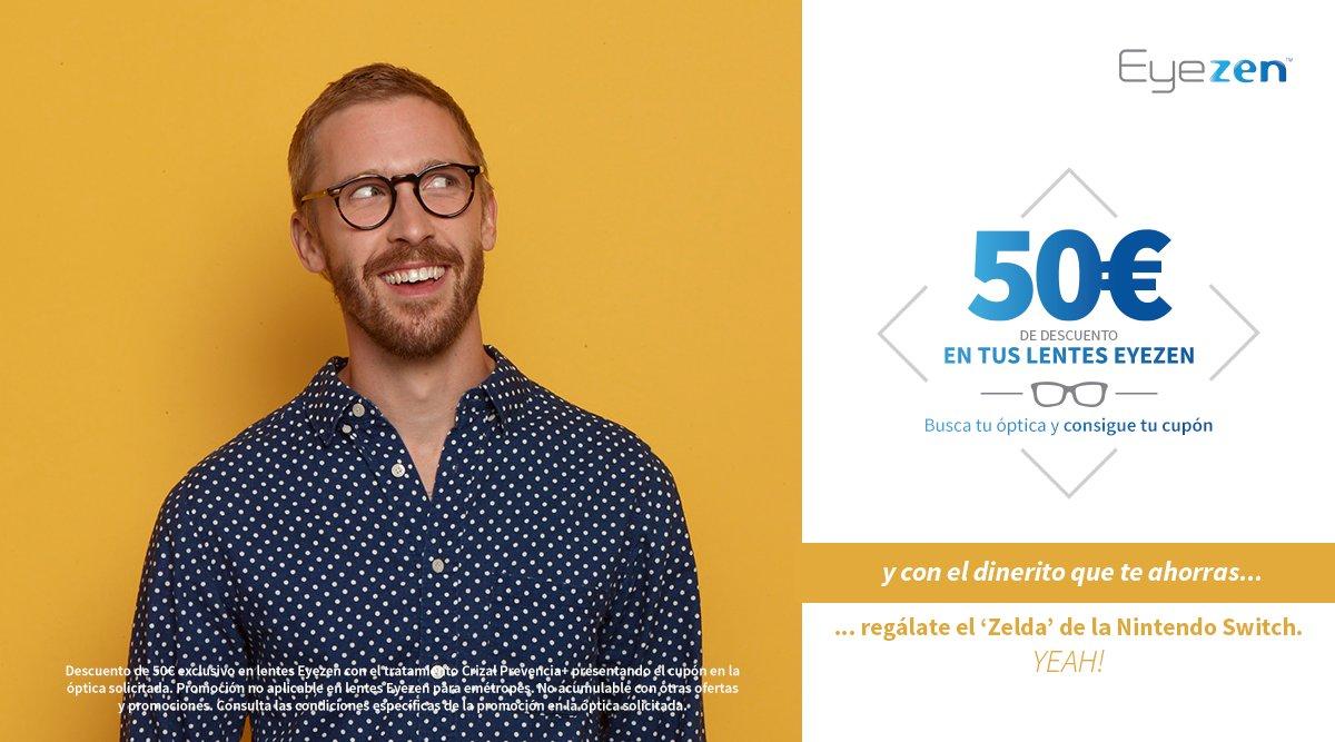 ecad6e796d #Óptica FINA #Elche te ofrece 50 € en la compra de tu lentes #EyeZen, y  evita así la #fatigaocular. http://ow.ly/AWRF30a54BH  pic.twitter.com/X9Ryo46J26
