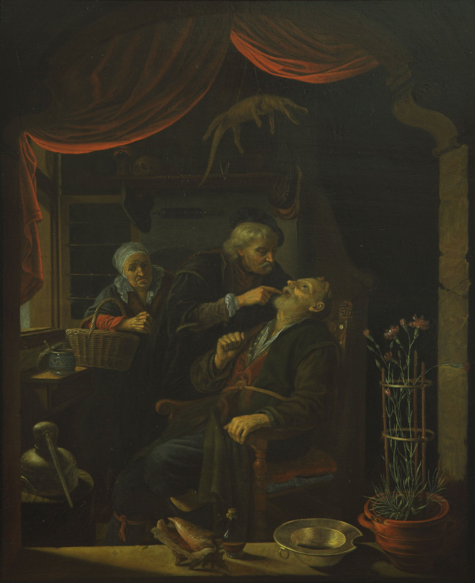 In images of early modern doctors, dentists, & surgeons, women often provide support for family members #MuseumMonday #WomensHistoryMonth https://t.co/XLsFmVNwRi
