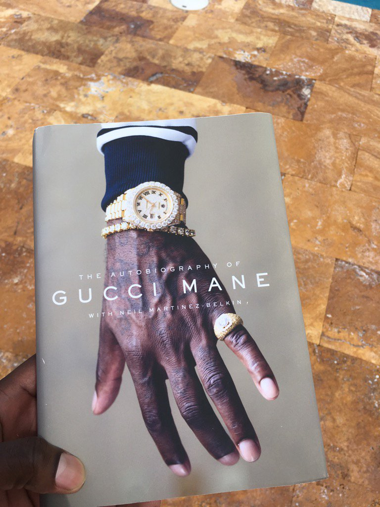 I'm an author now #TheAutobiographyOfGuccimane
