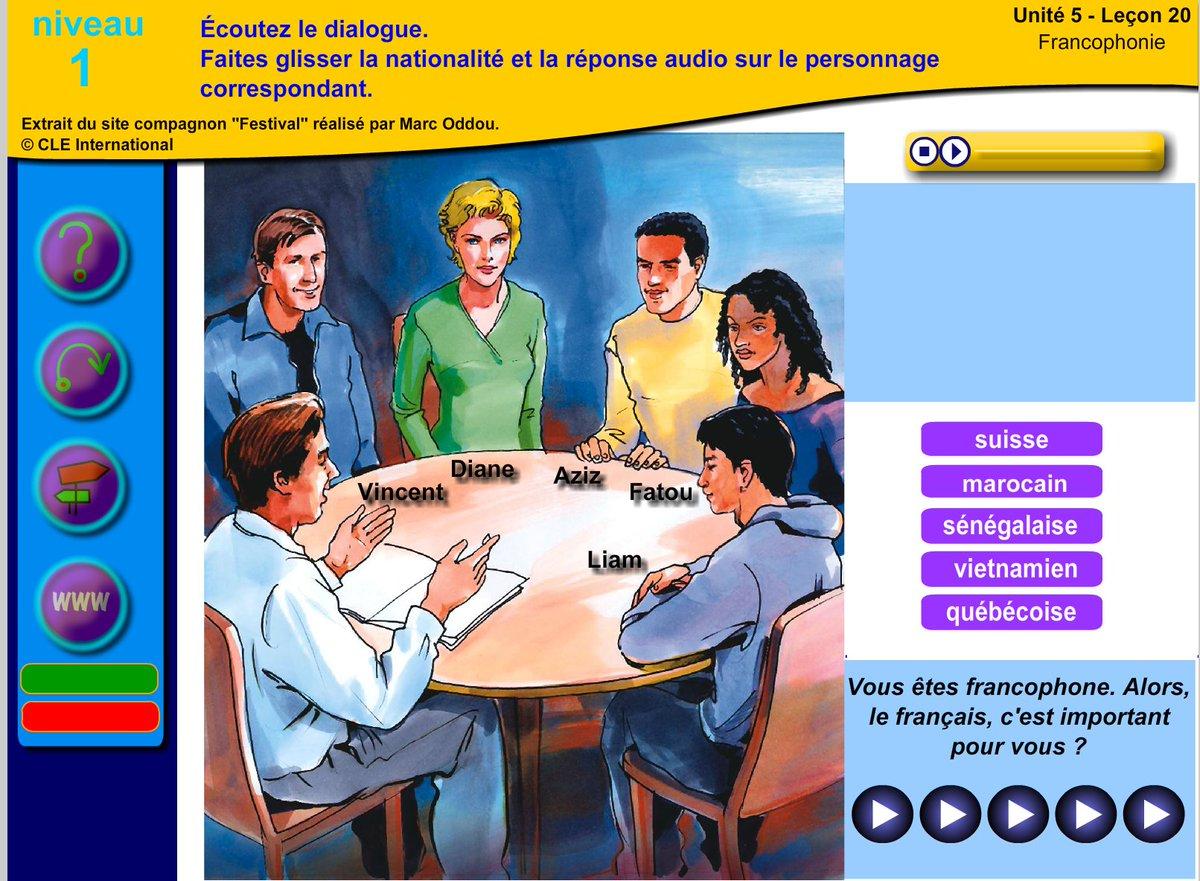 Activité de compréhension orale sur le thème de la #Francophonie #fle...