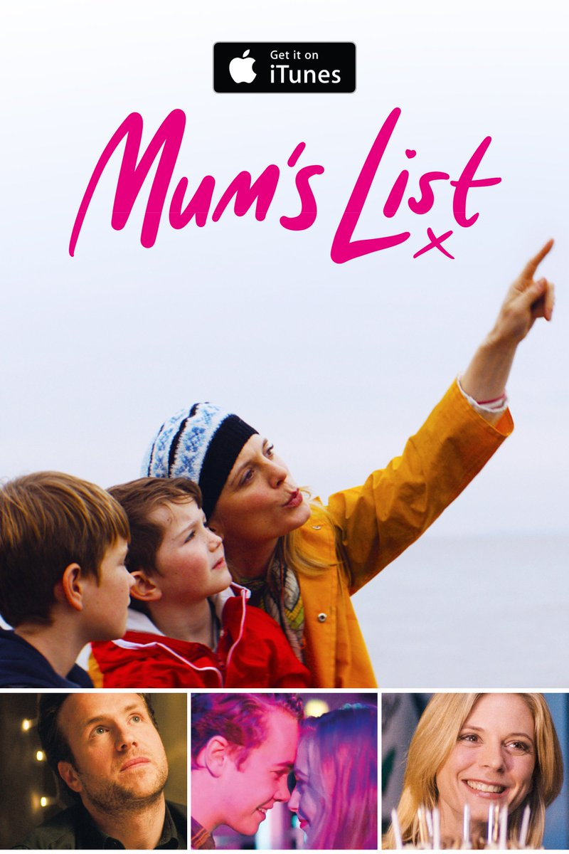 "Mum's List Film on Twitter: ""The unforgettable MUM'S LIST starring  #RafeSpall & @EmiliaFox is #outnow. 💻 Download and watch instantly on  @iTunes: ..."