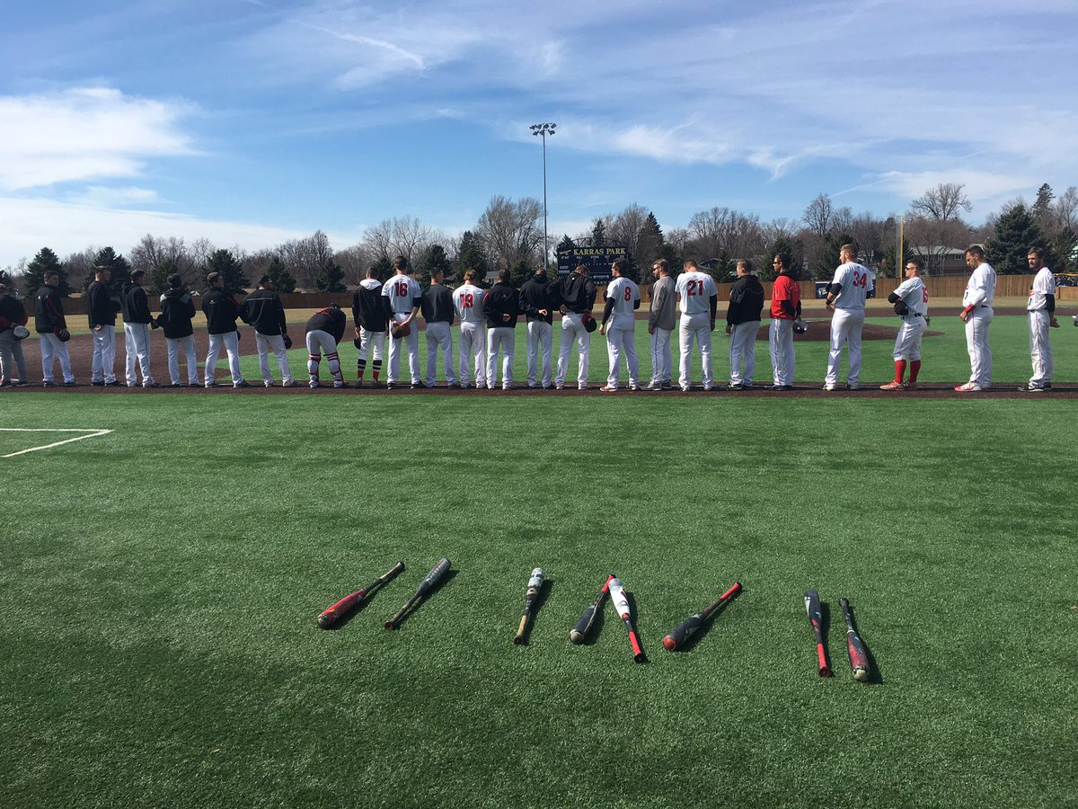 Game time!!! Davis, Maas, and Mallek to get the #hitparade going for the Huskies!! #NSICBase <br>http://pic.twitter.com/dwl3rl1Df7
