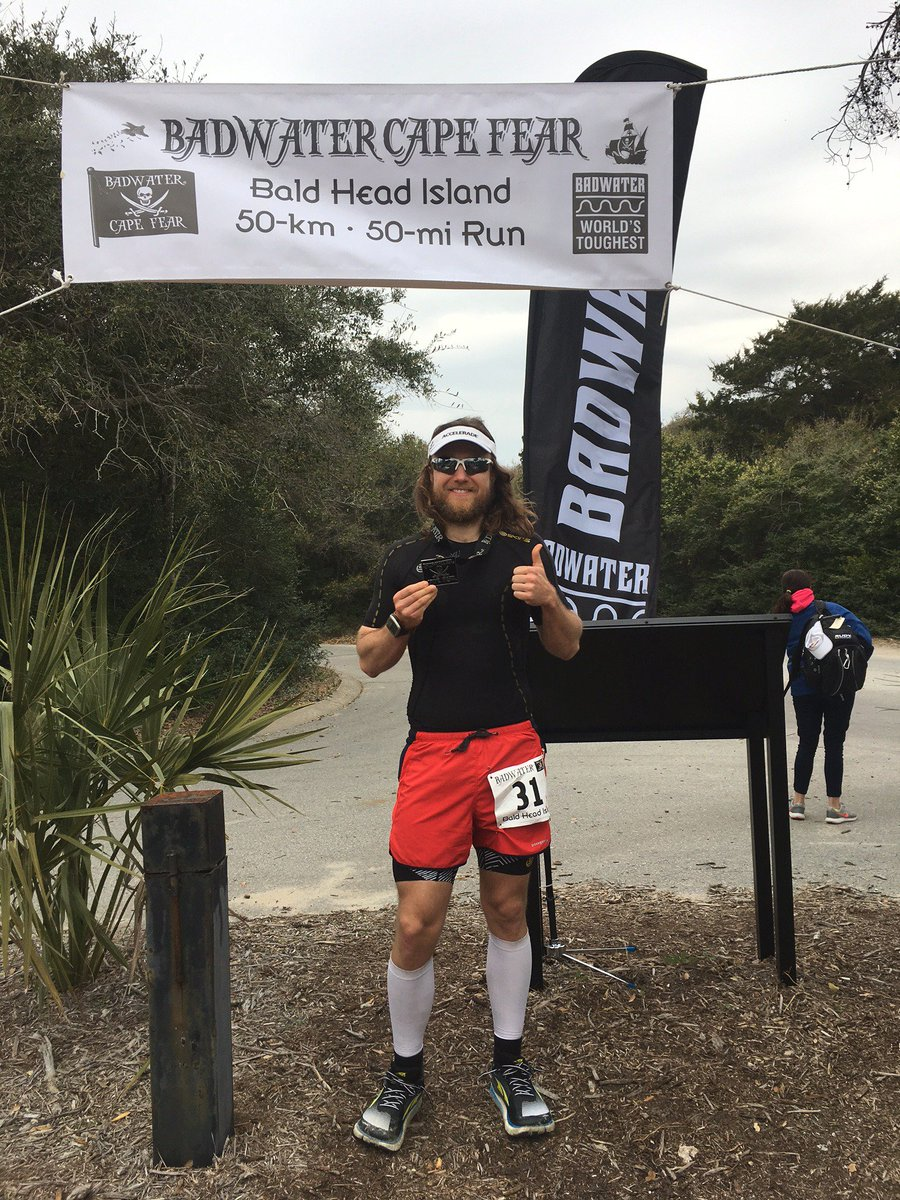 Congratulations to our ambassador! Keith #ran #50km in 4:51, in the 2017 #Badwater #CapeFear #UltraMarathon Saturday! #ultrarunner #running<br>http://pic.twitter.com/cilNGWRTVG