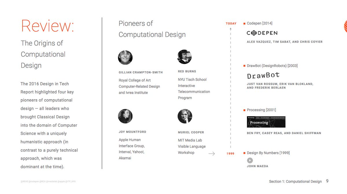"test Twitter Media - From @johnmaeda's 2017 Design in Tech Report: all four ""Pioneers of computational design"" are women! Cool! https://t.co/0hrayz20Kc (page 10) https://t.co/0UMuot1GqF"