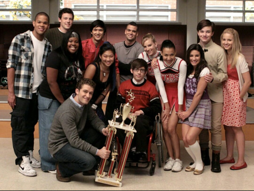 Being a part of something special, makes you special. #2YearsWithoutGlee
